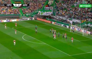 Арсенал-Спортинг видеообзор матча 8 ноября 2018 года, лучшие моменты и голы. Смотреть повтор записи ютуб