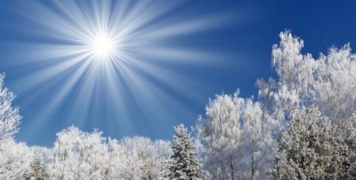"""Зимнее солнцестояние в 2019 году"""""""