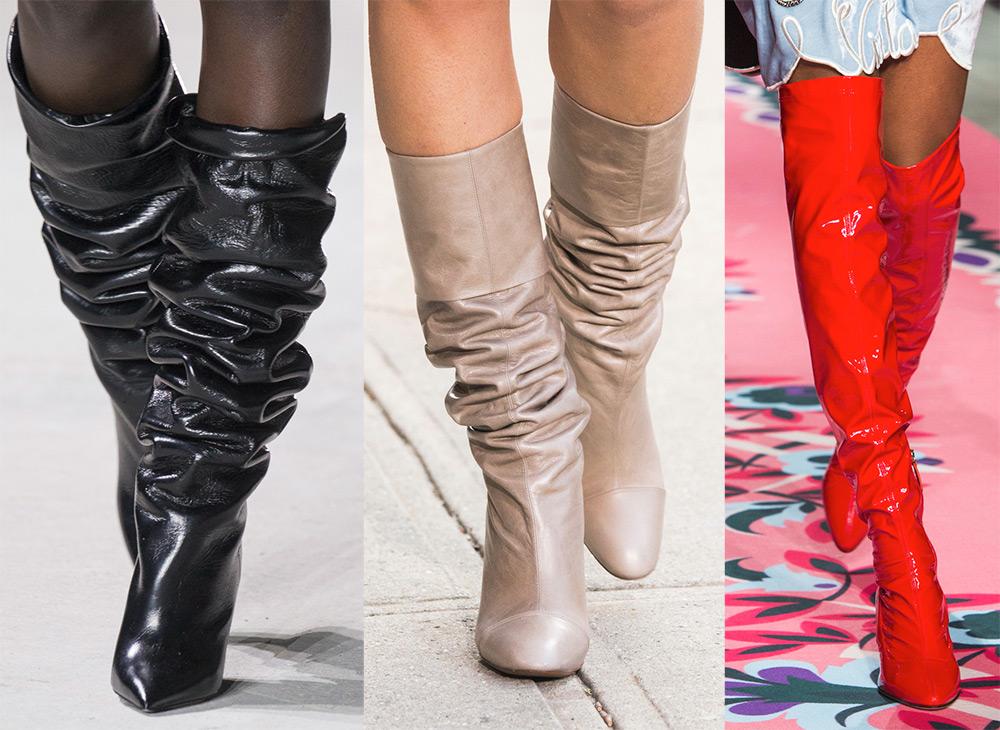 Женская обувь осень-зима 2019. Новые коллекции. Фото