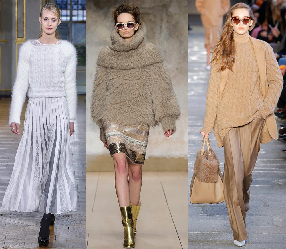 Вязаная мода осень зима 2018 2019