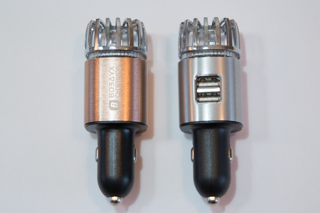 Оригинальный и полезный подарок для водителя - Очиститель - ионизатор Воздух Супериор А1